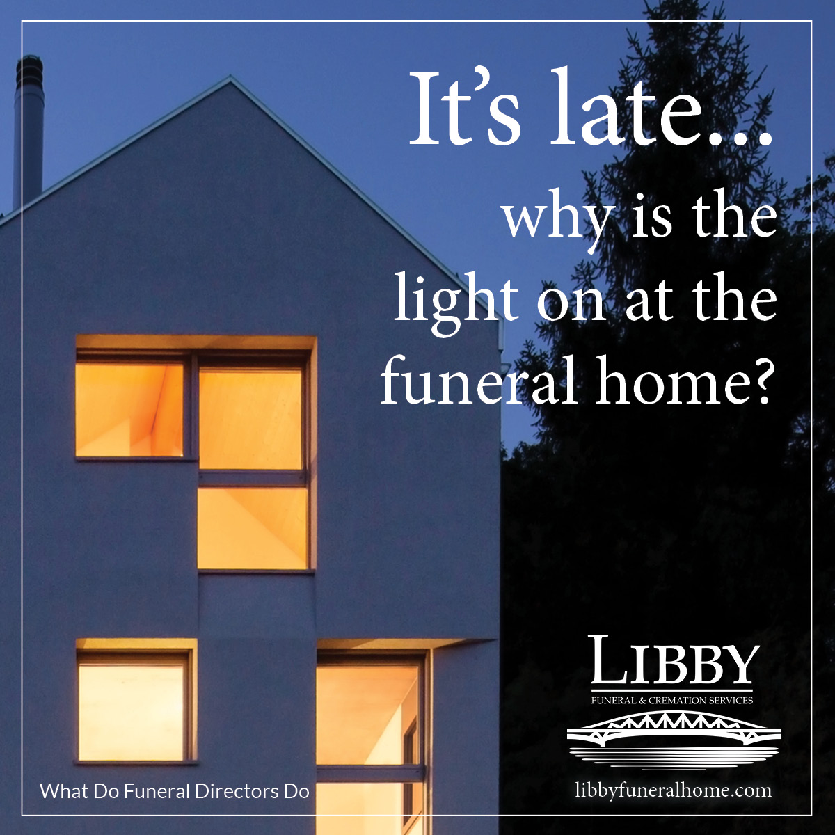 Ever wonder what funeral directors do?